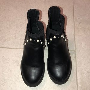 Zara Kids Girls Pearl Boots